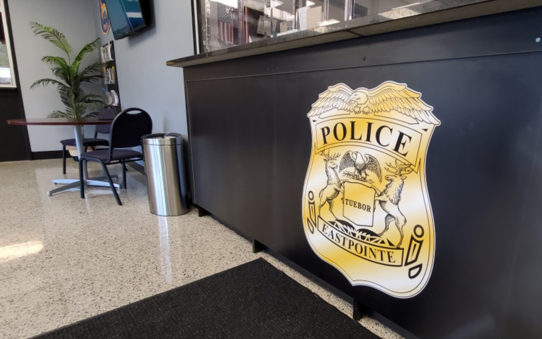 Eastpointe Police – Lobby Signage