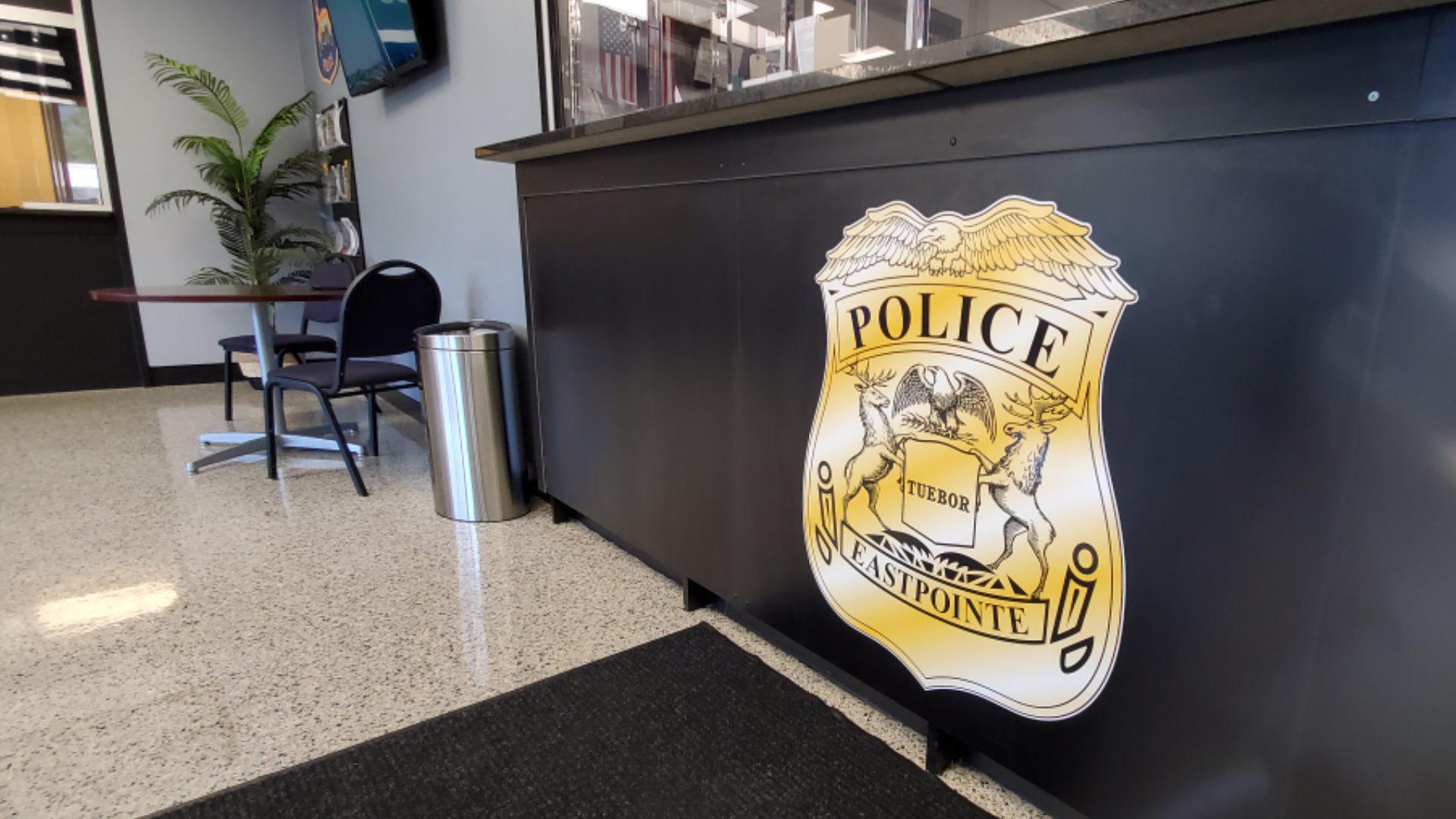 Eastpointe Police - Lobby Signage (8)