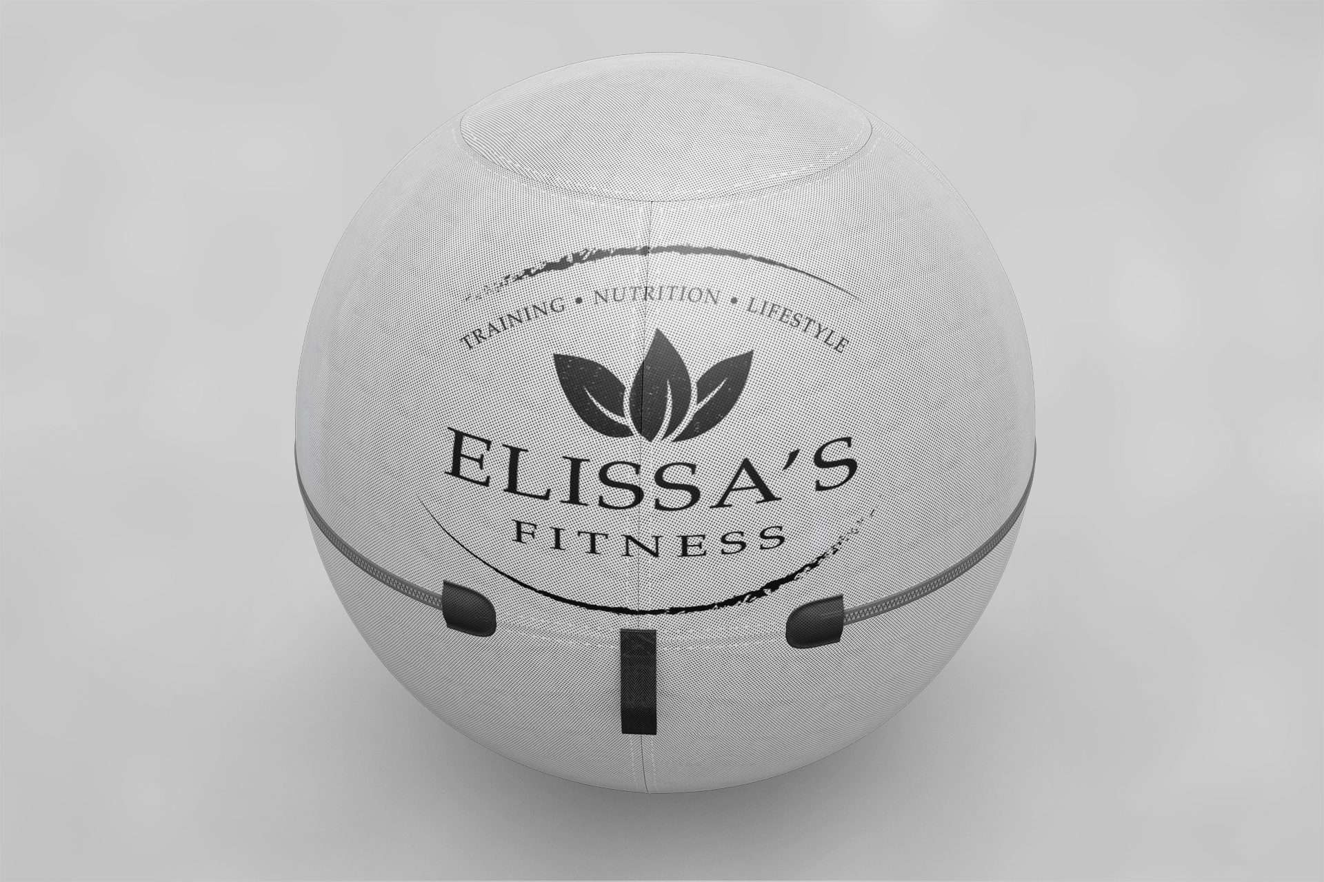 Elissas Fitness – Logo Mockup 01