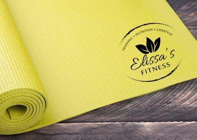 Elissas Fitness – Logo Mockup 04
