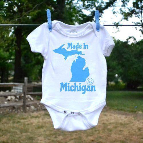 FYL - Made In Michigan hirt