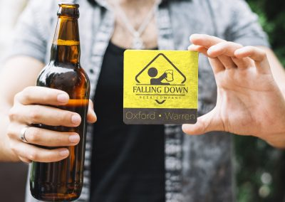 Falling Down Beer – Logo Decals
