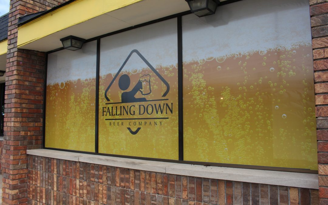 Falling Down Beer Co – Warren, MI Window Perf