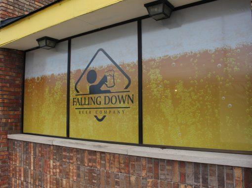 Falling Down Beer Co – Warren, MI Window Perf