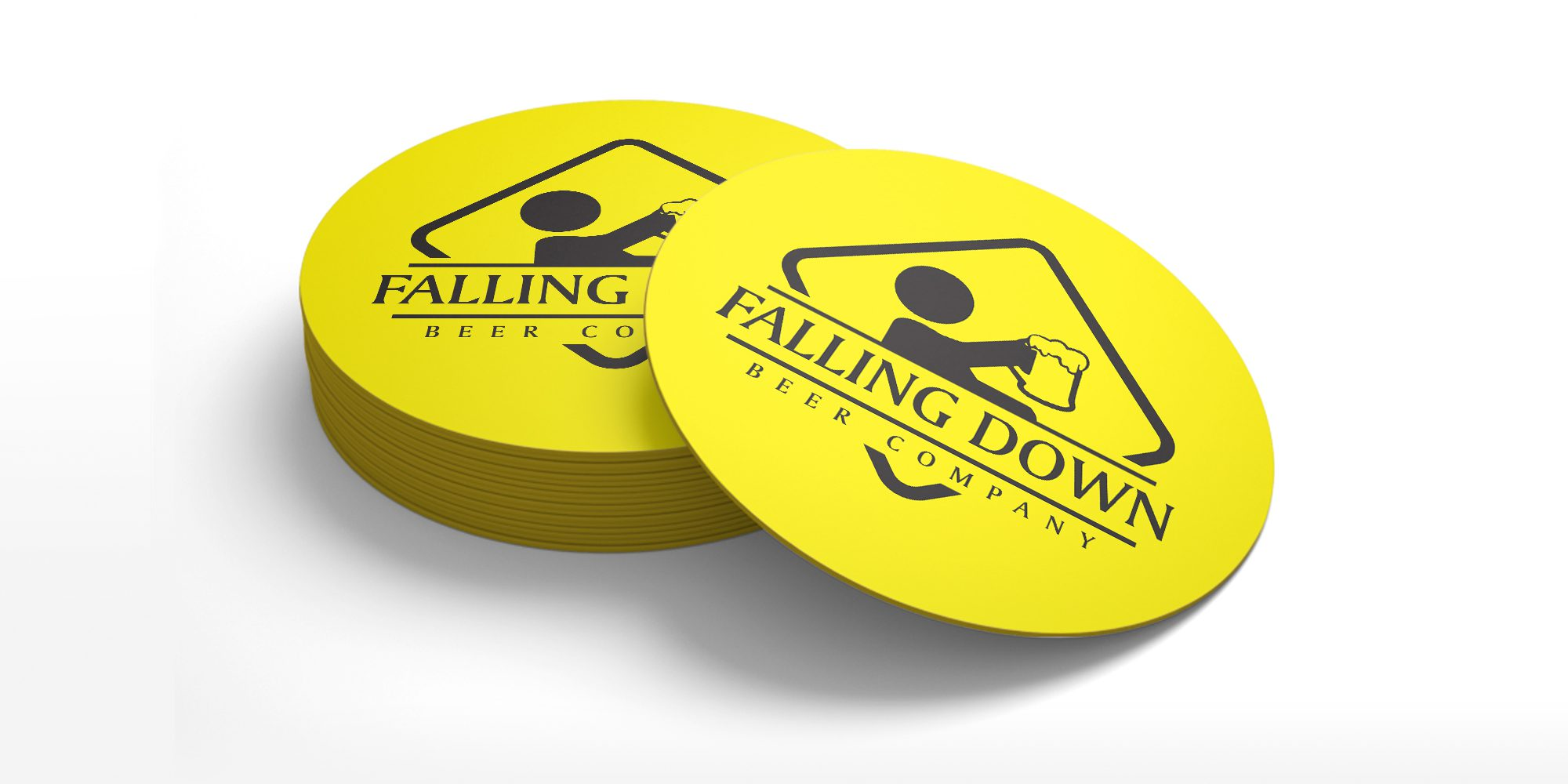 Falling Down Beer Company - Coasters