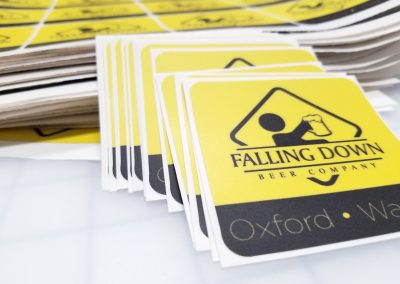 Falling Down Beer - Logo Decals