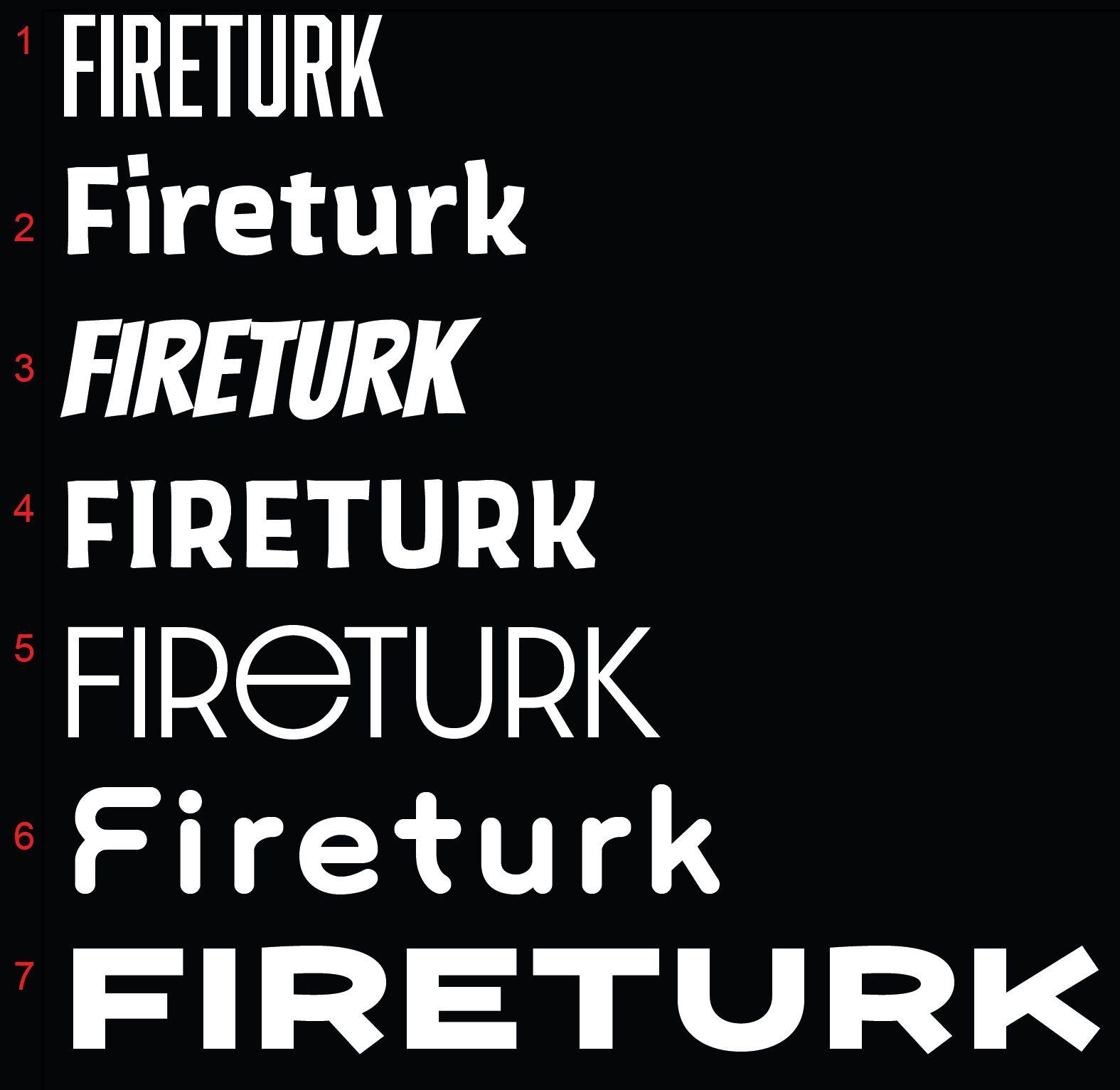 Fireturk Beats – Logo Concepts