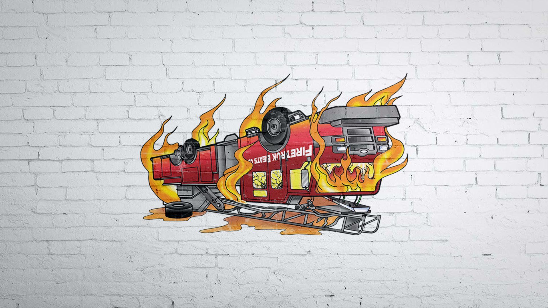 Fireturk Beats - Logo Mockup