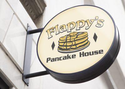 Flappys Pancake House – Logo Mockup 01