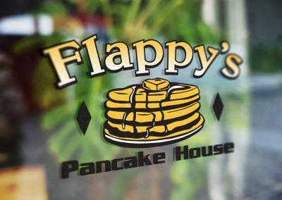Flappy's Pancake House – Logo