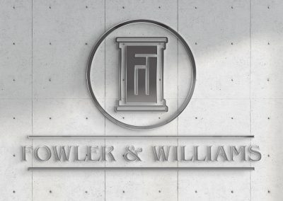 Fowler and Williams - Logo Mockup 01