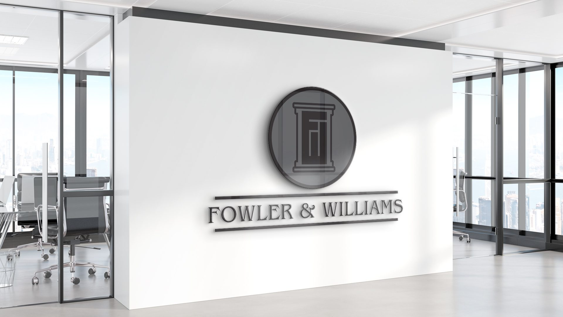 Fowler and Williams - Logo Mockup 02