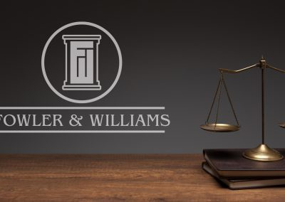 Fowler and Williams - Logo Mockup 03