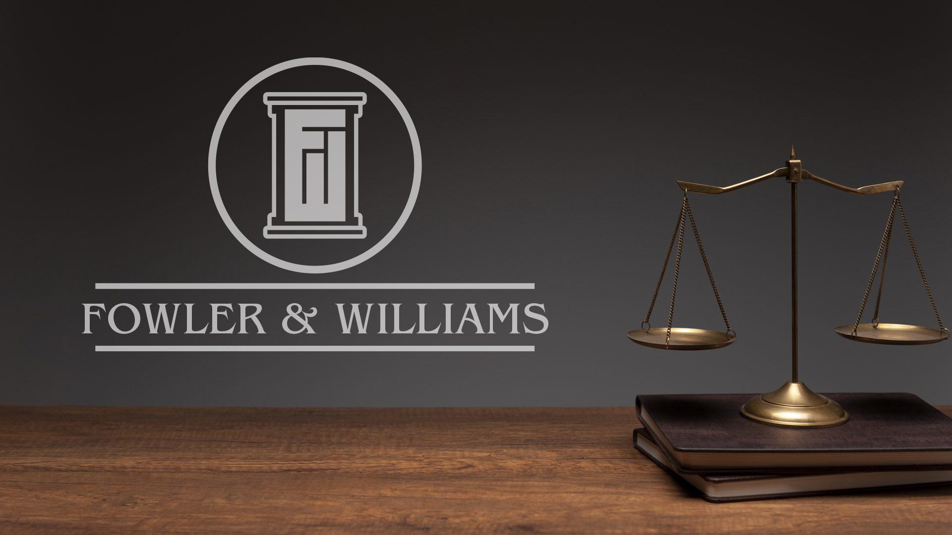 Fowler and Williams - Logo Mockup 03