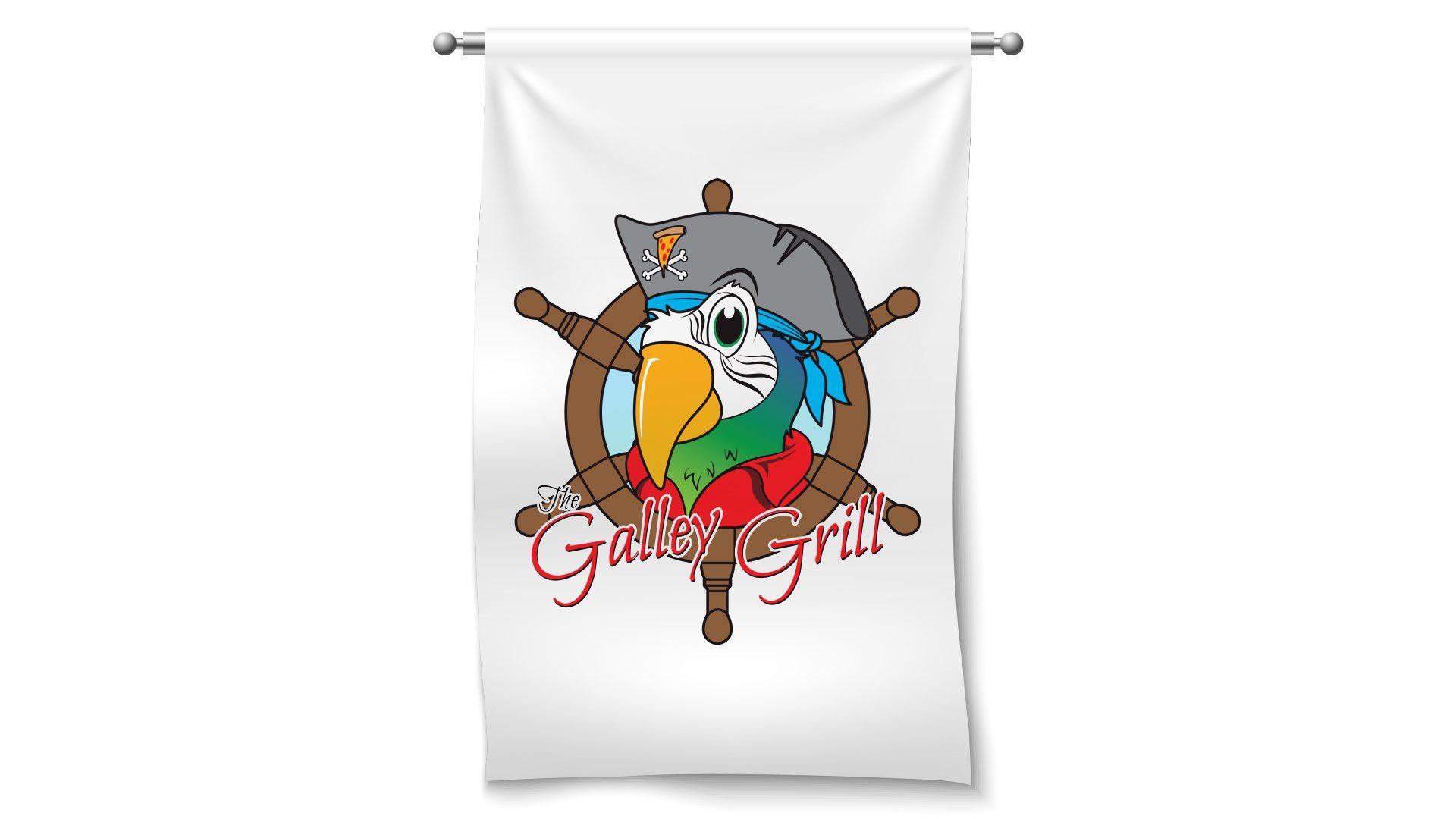 Galley Grill – Logo mockup 05