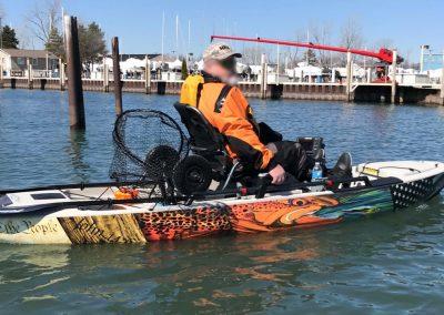 Hobie Pro angler 12′ Kayak Wrap