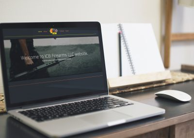 ICB Firearms - Website Mockup 01
