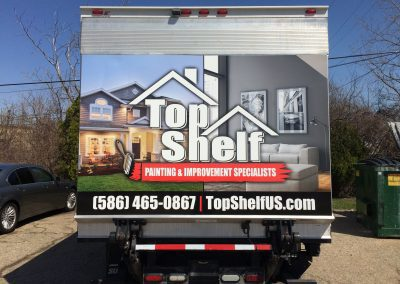 Top Shelf - E 350 Box Truck Wrap
