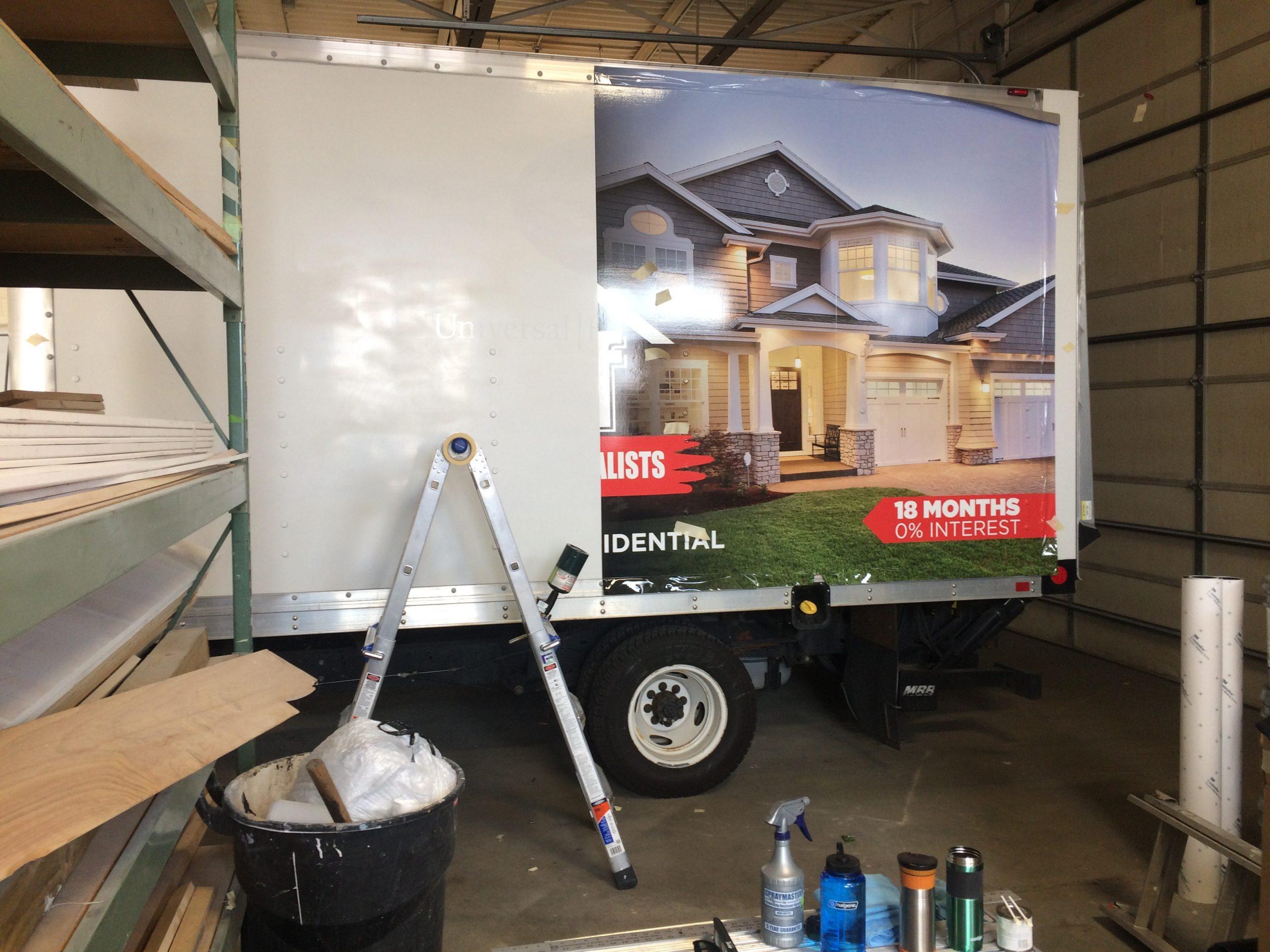 Top Shelf - E 350 Box Truck Wrap