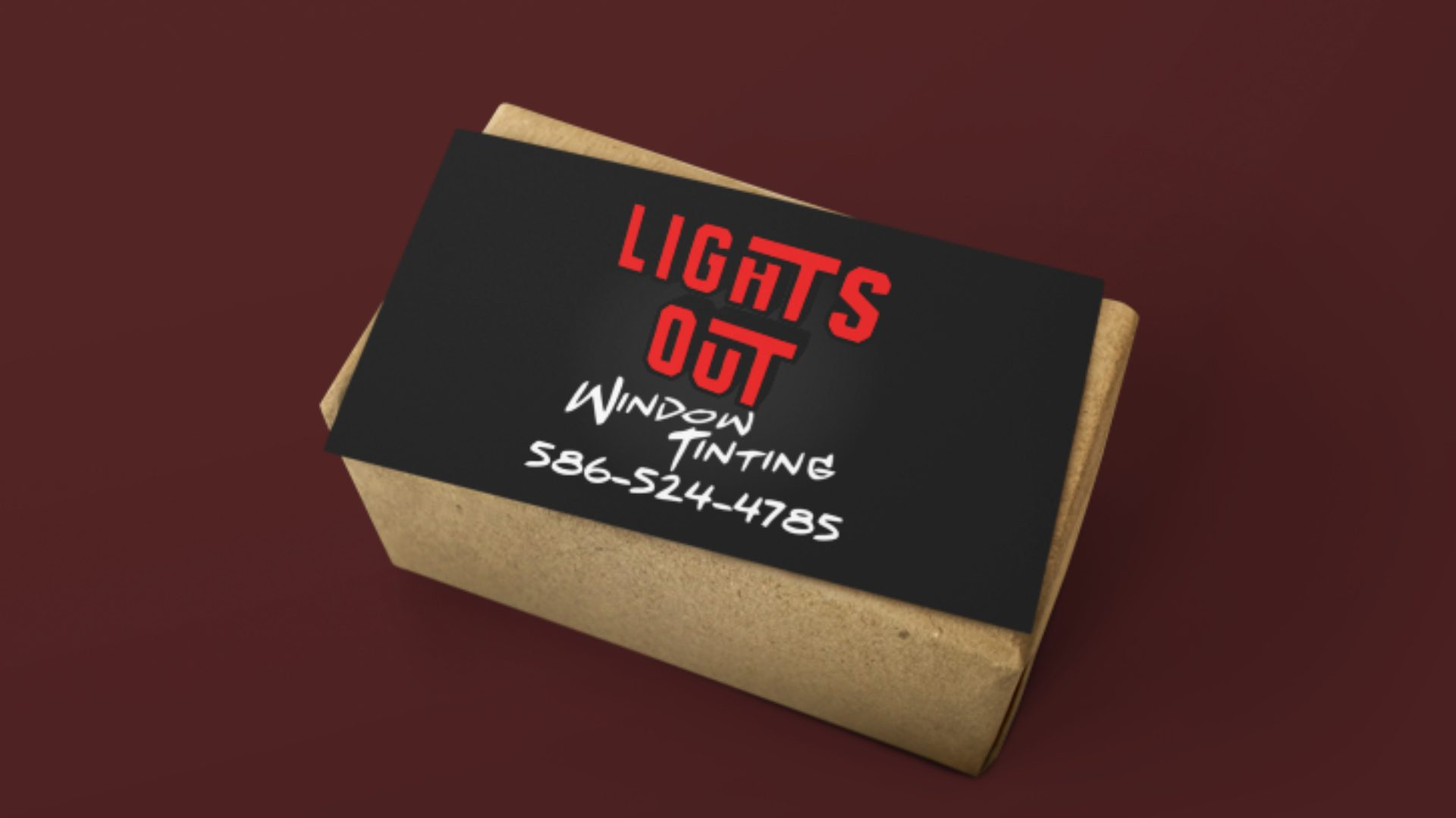 Lights Out Window Tinting - Business Card Mockup (4)