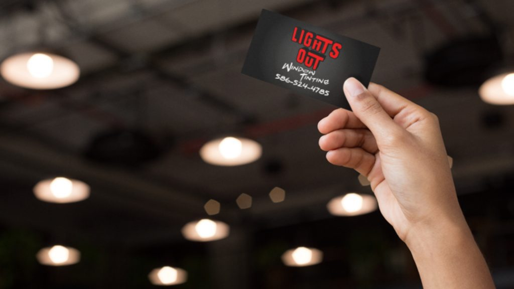 Lights Out Window Tinting - Business Card Mockup (6)