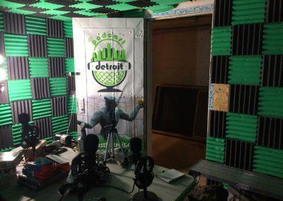 Podcast Detroit Door Wrap - 01