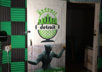 Podcast Detroit Door Wrap - 02