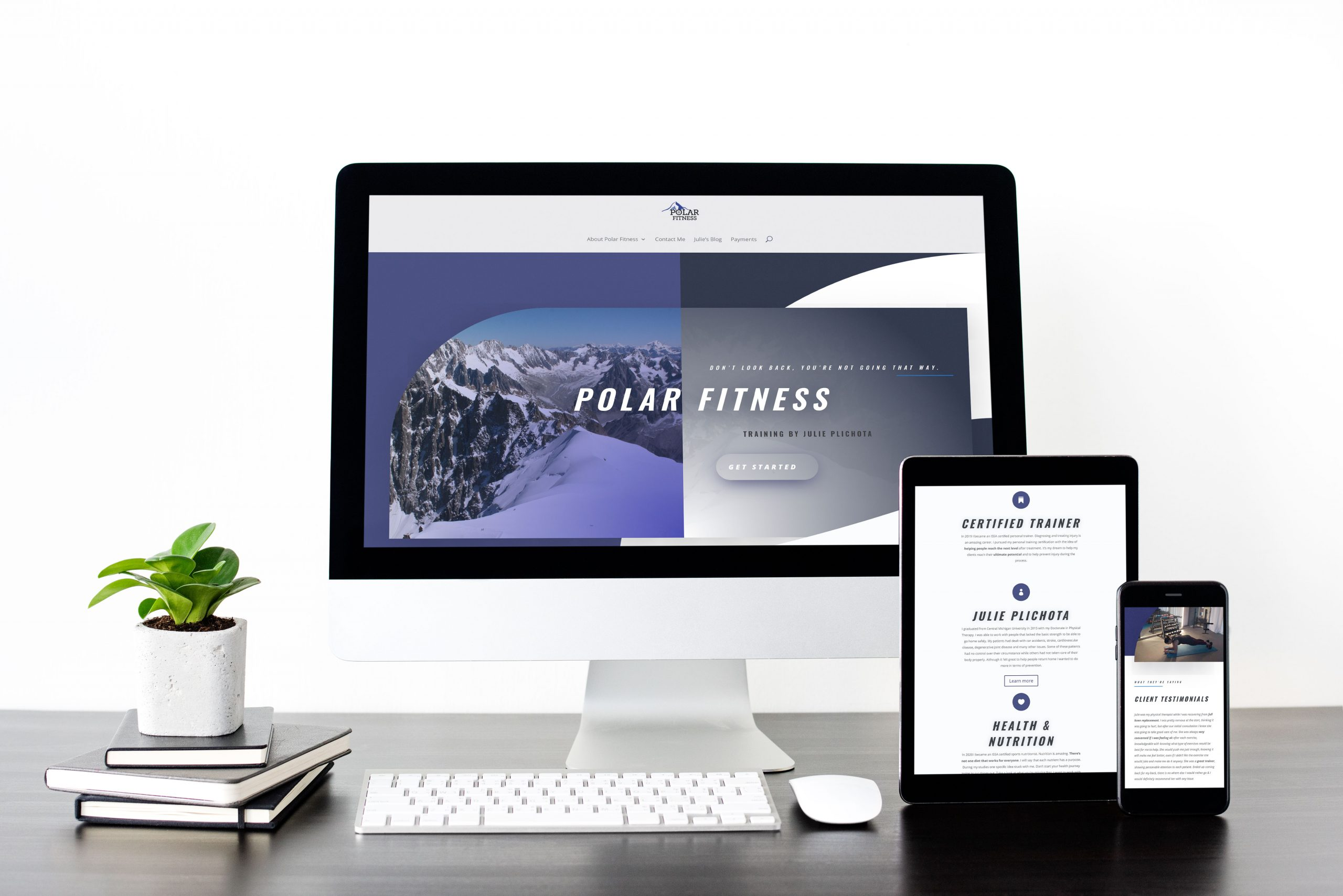Polar Physical Therapy and Fitness - 2020 Website Mockup 02