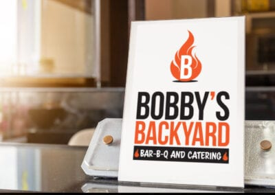 Bobbys Backyard – Restaurant Logo