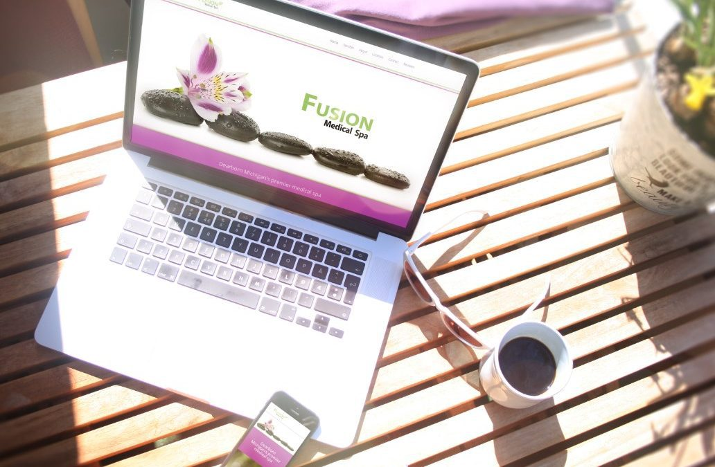 Fusion Spa – Website