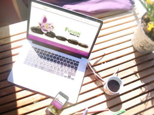 Fusion Spa – Website