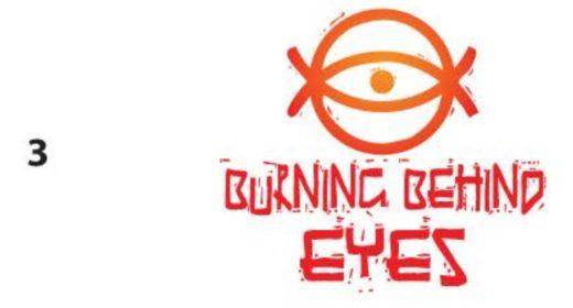Behind Burning Eyes - Conceptual Logo Design 03