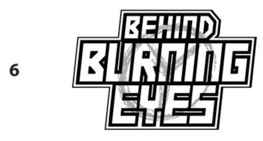Behind Burning Eyes - Logo Design Process 01