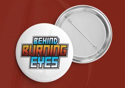 Behind Burning Eyes - Logo Mockup 03