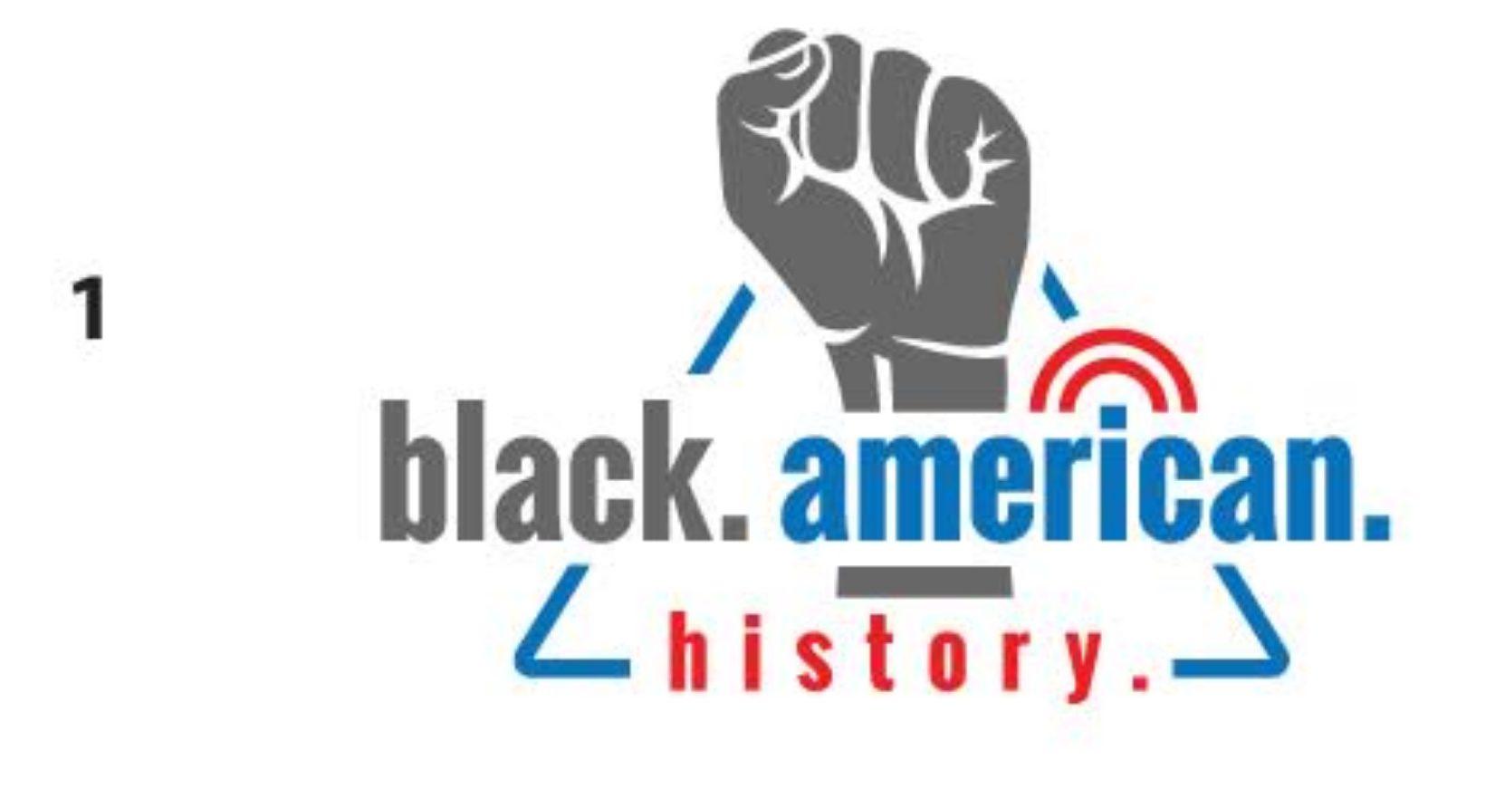Black American History - Logo Design Concept 01