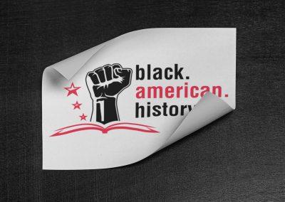 Black American History - Logo Mockup 02