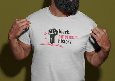 Black American History - Logo Mockup 05