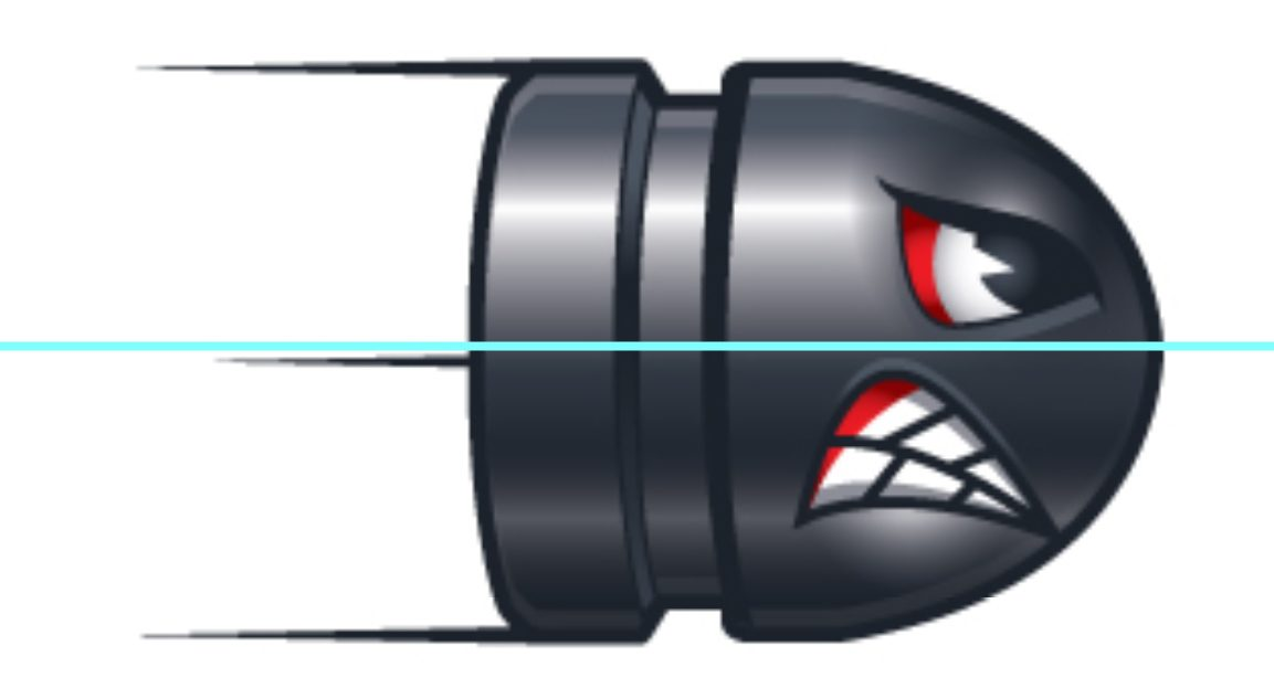 ICB Firearms Bullet Logo Concept 02