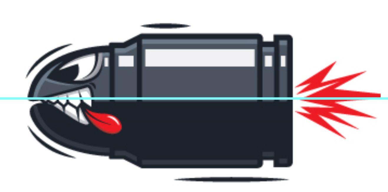 ICB Firearms Bullet Logo Concept 04