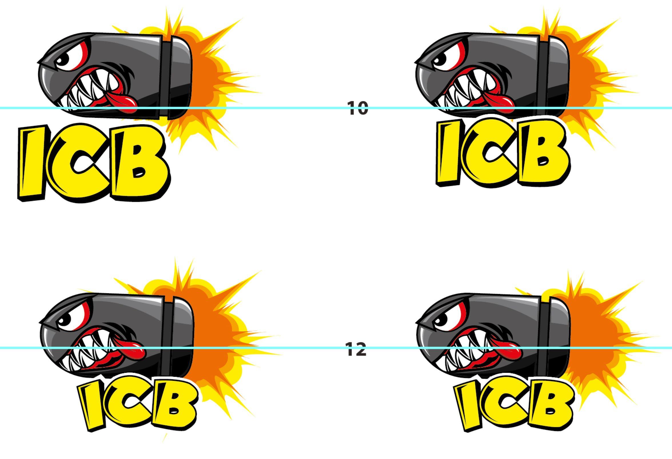 ICB Firearms Bullet Logo Concept 06