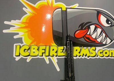 ICB Firearms Bullet Logo Mockup 03