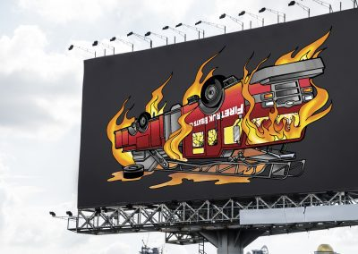 DJ Fireturk - Firetruck Album Art Design Mockup 03
