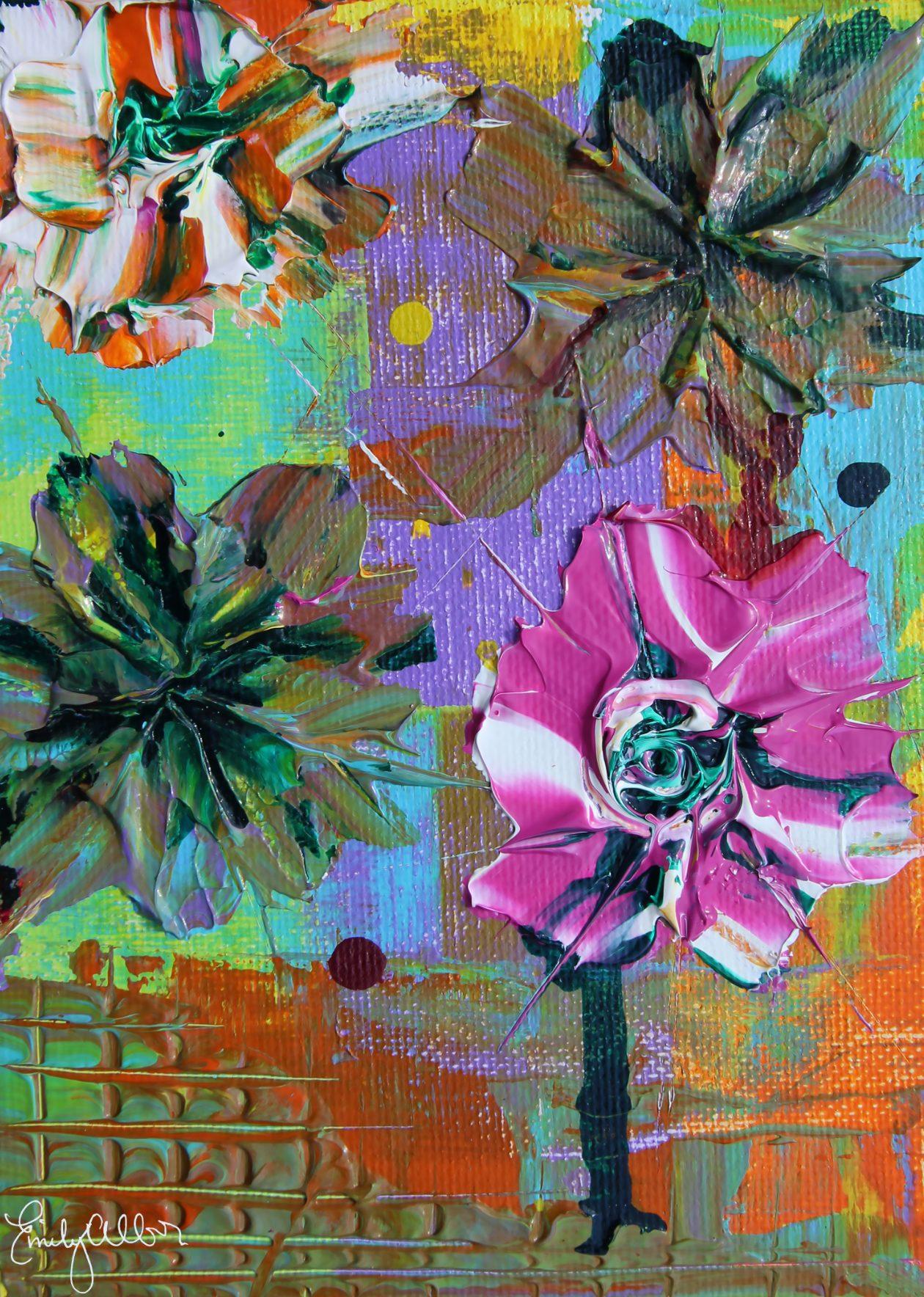 Emily Alber Art - Garden 1 Art
