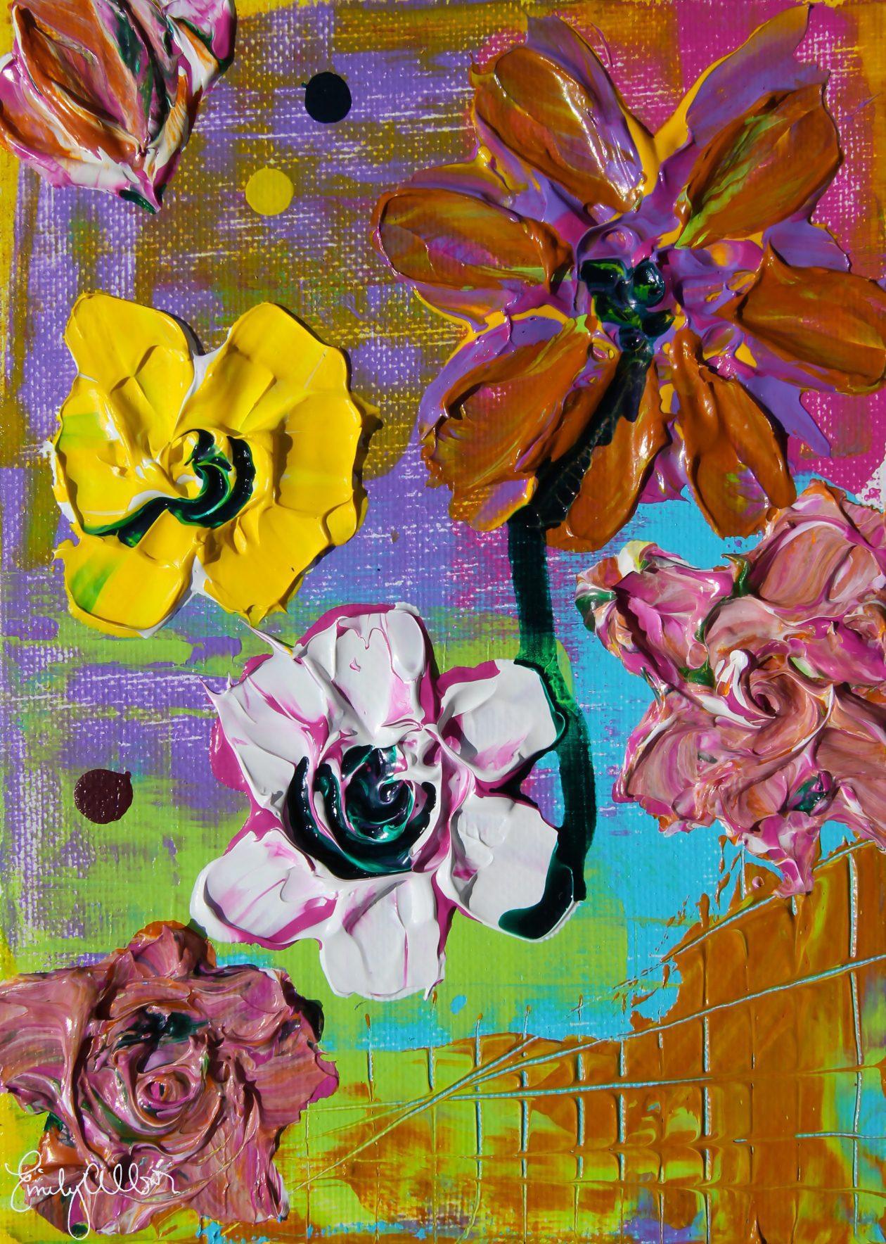 Emily Alber Art - Garden 3 Art