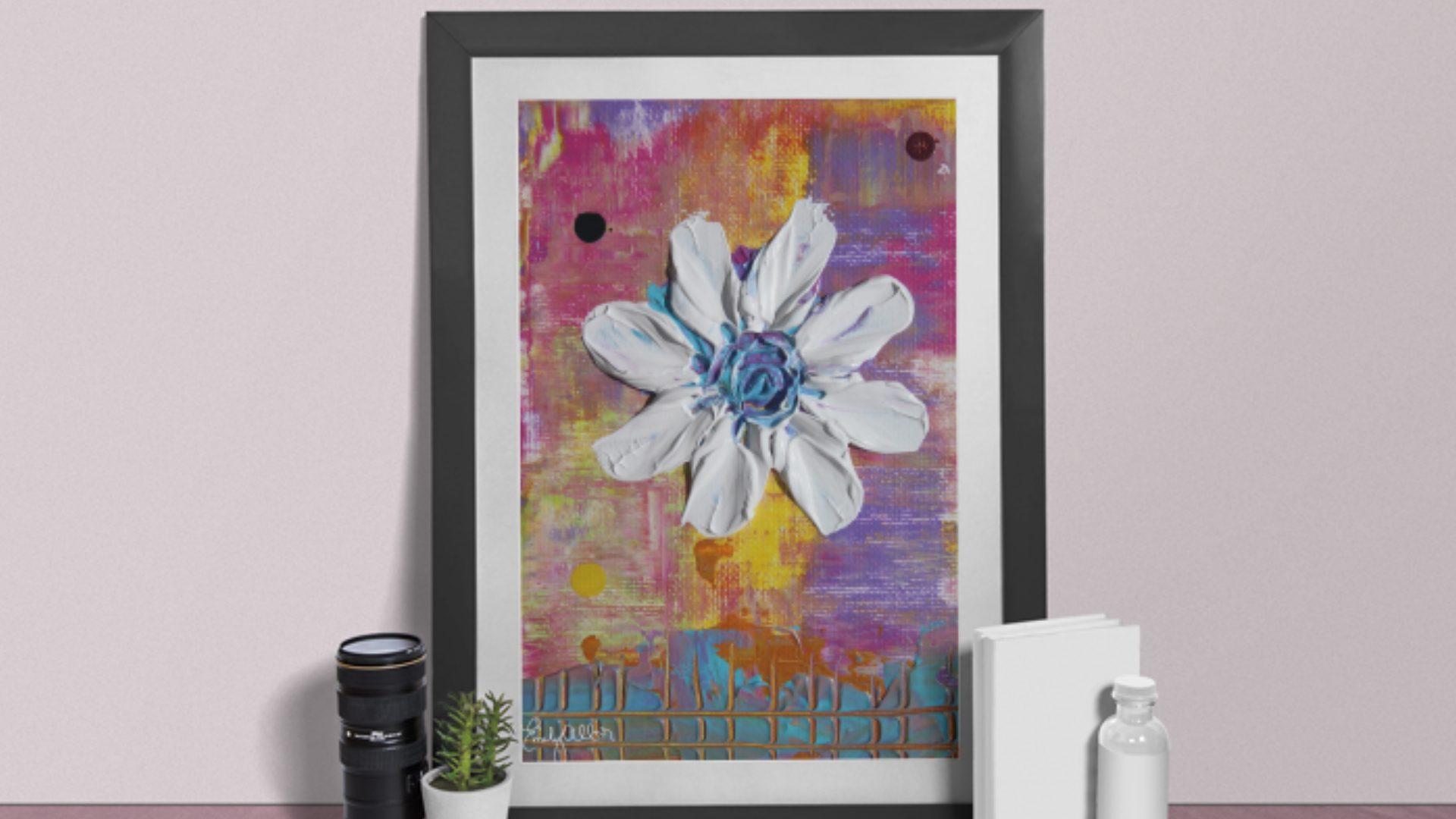 Emily Alber Art - Garden Series Art Mockup 02