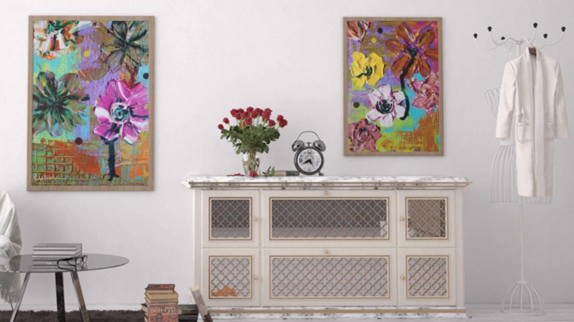 Emily Alber Art - Garden Series Art Mockup 04