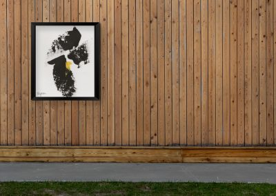 Emily Alber Art - Yellow and Black Mockup 01