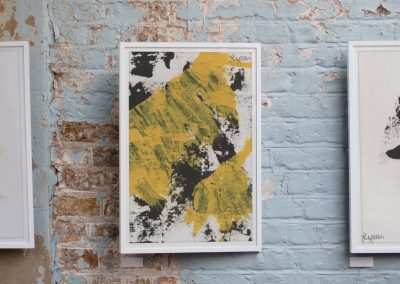 Emily Alber Art - Yellow and Black Mockup 03