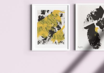 Emily Alber Art - Yellow and Black Mockup 04