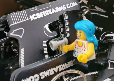 ICB Firearms - Gun Key chain Bottle Opener Lego Photo 03